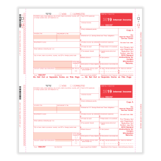 ComplyRight 1099 INT Tax Forms Self