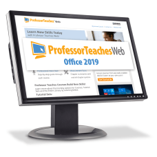 Individual Software Professor Teaches Web Office