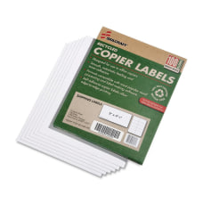 SKILCRAFT White Copier Shipping Labels 2