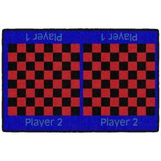 Flagship Carpets Checkers Rug 24 x