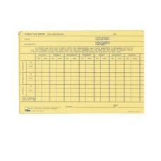 TOPS Handwritten WeeklyOvertime Time Cards 6