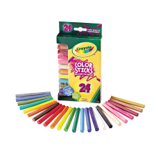 Crayola 24 Color Sticks Woodless Colored