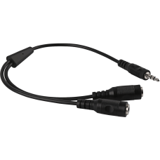 V7 Black Audio Cable 35mm Male