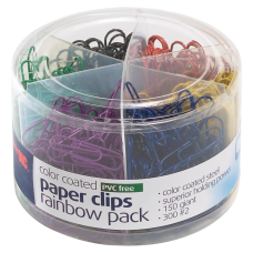 Officemate Nylon Coated Paper Clips No