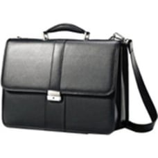 Samsonite Leather Business Flapover Notebook carrying