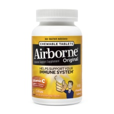 Airborne Immune Support Supplement Chewable Tablets