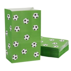 Party Treat Bags 36 Pack Soccer