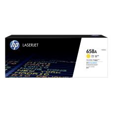 HP 658A LaserJet Toner Cartridge Yellow