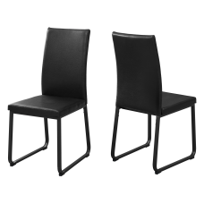 Monarch Specialties Shasha Dining Chairs Black