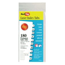 Redi Tag Laser Index Tabs 716