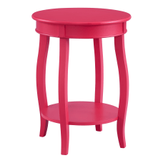 Powell Nora Round Side Table With
