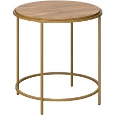 Sauder International Lux Round Side Table