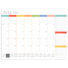 TF Publishing Large Desk Pad Calendar