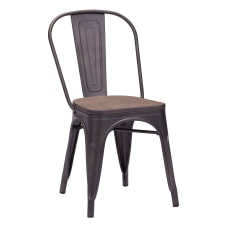 Zuo Modern Elio Dining Chairs Rustic