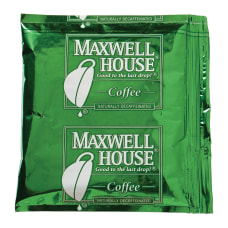 Maxwell House Coffee Packets Decaffeinated 15