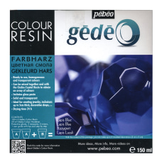 Pebeo Gedeo Color Resin Lapis Blue