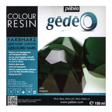 Pebeo Gedeo Color Resin Jade 750