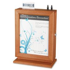 Safco Wood Suggestion Storage Box 14