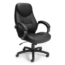 OFM Stimulus High Back Chair BlackSilver