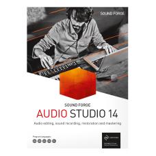Magix SOUND FORGE Audio Studio 14