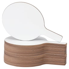 Flipside Round Dry Erase Frameless Answer