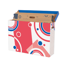 TREND Bulletin Board Storage Box File