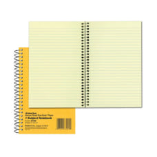 Rediform Brown Board 1 Subject Notebooks