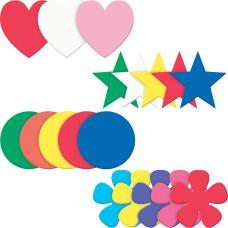 Pacon Wonderfoam Shapes Assortment Set Heart