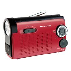 GPX WeatherX AMFM Weatherband Radio With