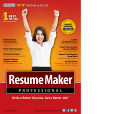 ResumeMaker Professional Deluxe 20 Download