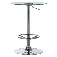 Powell Novelli Adjustable Height Pub Table