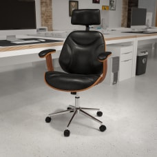 Flash Furniture Ergonomic Bonded LeatherSoft High