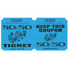 Amscan 5050 Ticket Roll Blue Roll