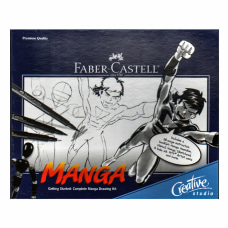 Faber Castell Complete Manga Drawing Kit