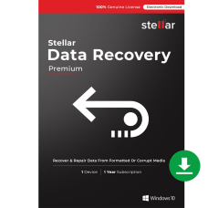Stellar Data Recovery Software Windows Premium