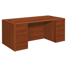 HON 10700 Series Double Pedestal Desk