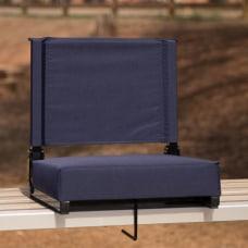 Flash Furniture Grandstand Comfort Seat NavyBlack
