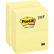 Post it Notes Original Notepads 5