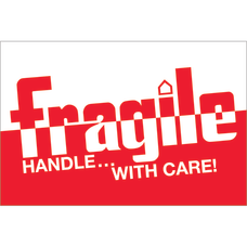 Tape Logic Preprinted Labels DL1054 Fragile