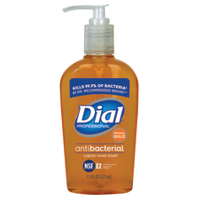 Dial Liquid Antimicrobial Hand Soap Unscented