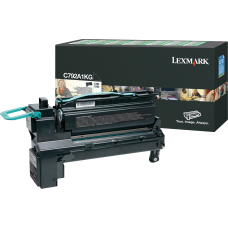 Lexmark C792A1KG Return Program Black Toner