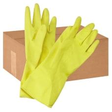 Boardwalk Flock Lined Latex Cleaning Gloves