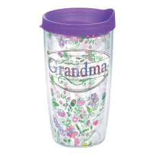 Tervis Grandma Flower Tumbler With Lid