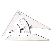 Pacific Arc Adjustable Acrylic Triangle 8