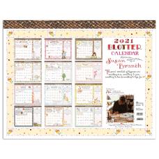 TF Publishing Monthly Desk Pad Calendar
