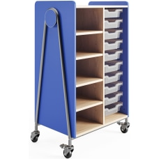 Safco Whiffle Double Column 10 Drawer