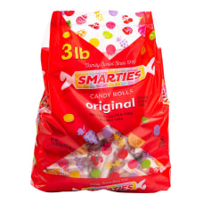 Smarties Candy Wafer Rolls 48 Oz