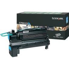Lexmark C792A1CG Return Program Cyan Toner