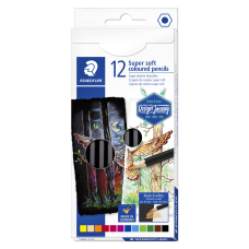 Staedtler Super Soft Colored Pencils 5