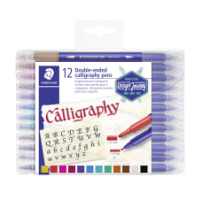 Staedtler Duo Ended Markers Calligraphy 20
